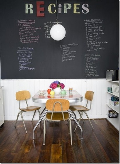 potential for a blackboard message wall -  teams can update where they are/going + other messages can be posted there