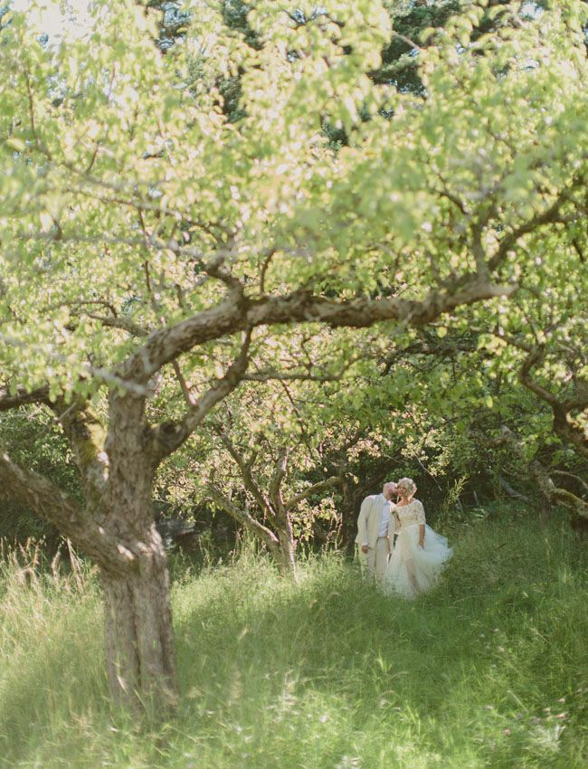Sweden Apple Orchard Wedding: Therese + Oskar-Ture