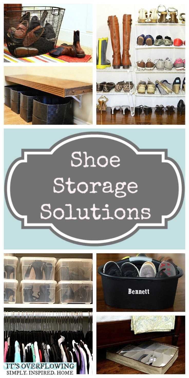74 Best Shoe Storage Solutions Images On Pinterest Shoe