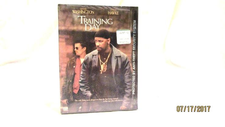 Training Day DVD Movie 2002 Sealed Rated R
