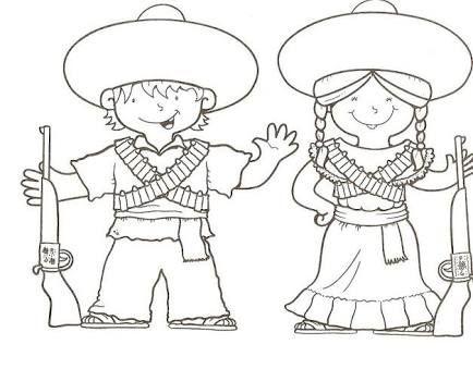 Resultado de imagen para actividades de la revolucion mexicana para preescolar
