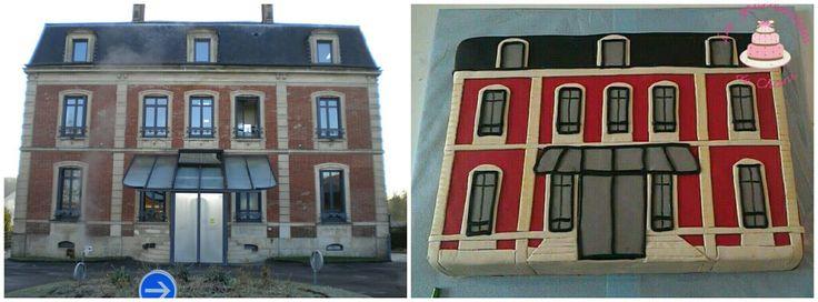 House cake - Gâteau sous-prefecture Clermont de l'Oise