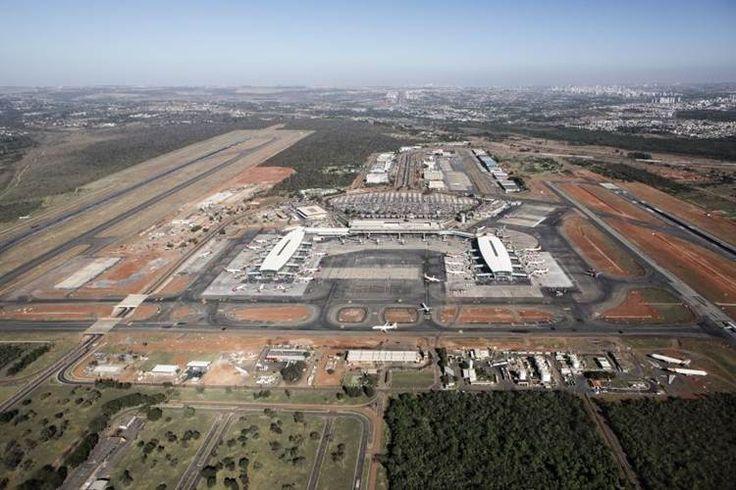 Aeroporto Juscelino Kubitschek de Brasilia | vista aérea atual
