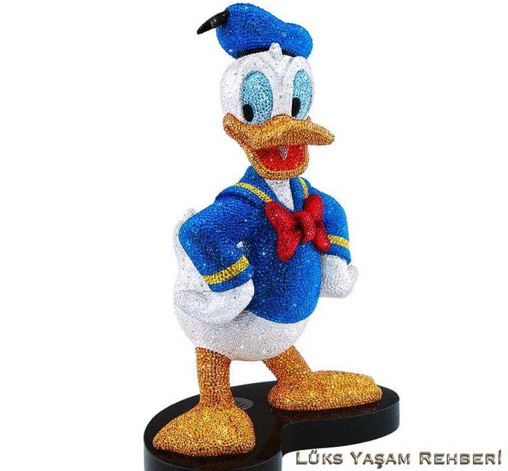Swarovski Kaplı Donald Duck   Lüks Yaşam Rehberi