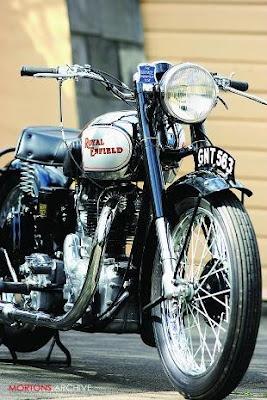 1948 Royal enfield J2  ~ Grease n Gasoline