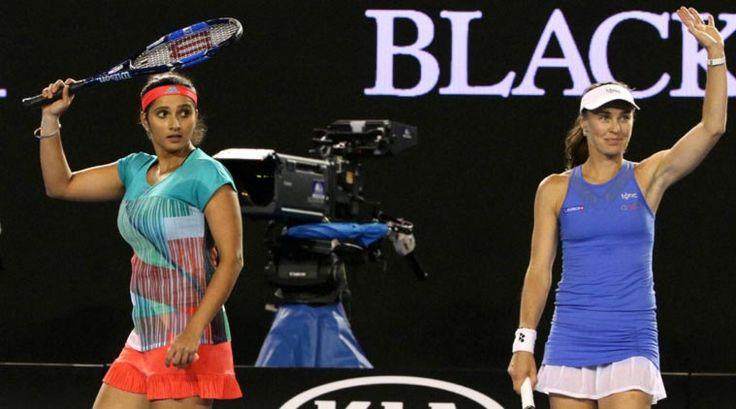 Aus Open 2016: Dominating win takes Sania Mirza-Martina Hingis...: Aus Open 2016: Dominating win takes Sania Mirza-Martina… #MartinaHingis