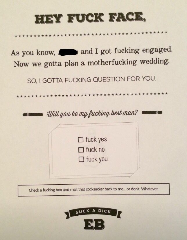 How to ask your groomsmen