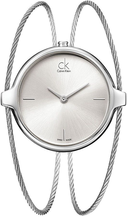 Calvin Klein Watch  バングル・ウォッチ派なんです