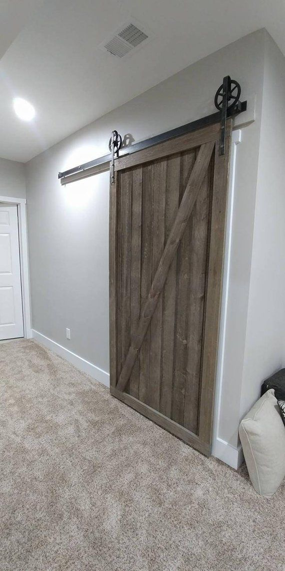 Barn Door Real Barn Wood Rustic Barn Door Farm House Door Etsy In 2020 Garage Door Design Rustic Barn Door Real Barn Doors
