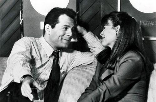 Kim Basinger & Bruce Willis (Blind Date 1987) Blake Edwardws. Photo TriStar Pictures.