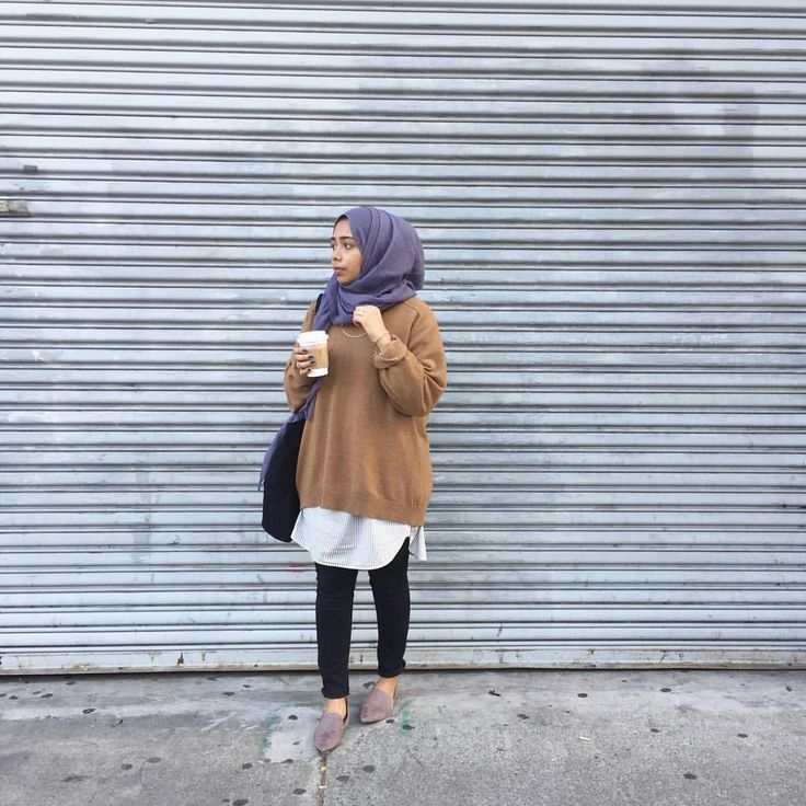 Style hijab inspiration- photo by @maryam.kayy in Instagram