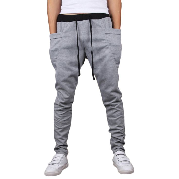 Brand New Fashion Men Joggers Casual Harem Sweatpants Pants Trousers Sarouel Mens Tracksuit Bottoms Track Joggers