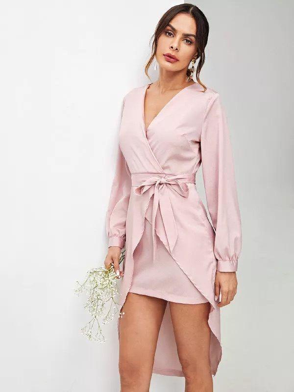 Catalogo Shein Primavera Verano 2020 Moda En Pasarela Vestidos Cortos Para Embarazadas Vestidos Formales De Invierno Vestidos De Fiesta Cortos