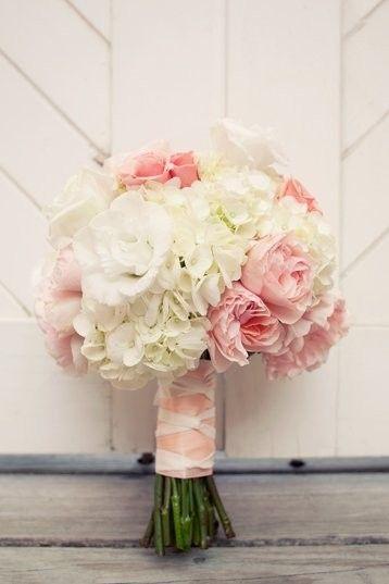 Pink White Reception Wedding Flowers Decor Flower Centerpiece Arrangement