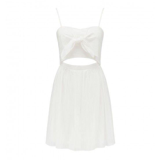 Kiara Knot Tie Prom Dress