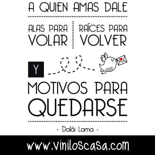 Bonita frase de #DaláiLama --> www.viniloscasa.com