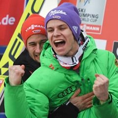 Winners celebrate at the Ski Jumping World Cup in Willingen, Germany Visit snowsportsproducts.com for endorsed products with big discounts.