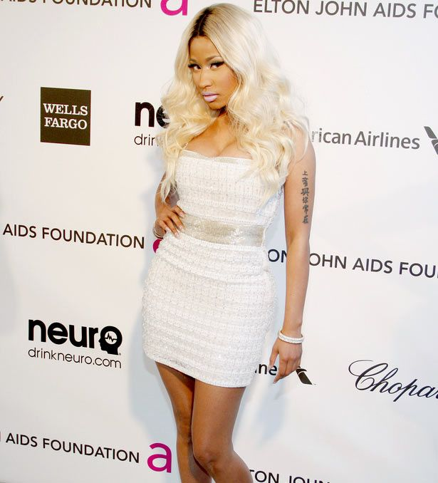 images of nicki minaj outfits   Nicki Minaj ditches her crazy outfits for a more stylish look