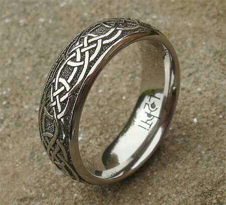Meteorite Ring Celtic