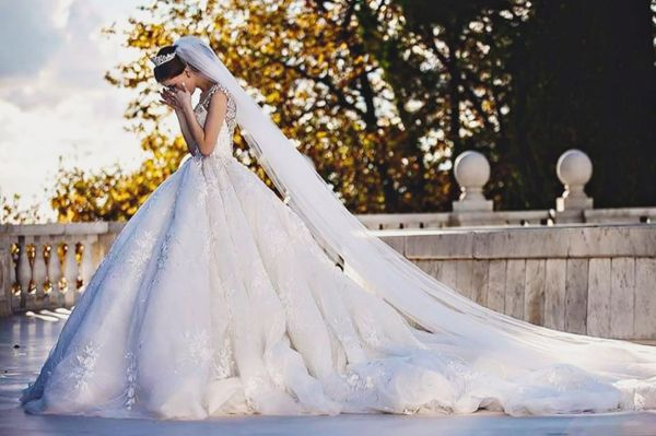 Be A Modern-Day Princess! 25 Fairytale Wedding Dresses! | Michael Cinco