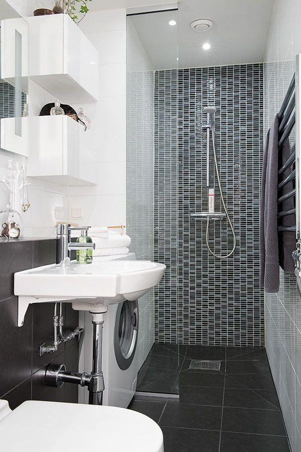 20 small laundry with bathroom combinations home decor bathroom rh pinterest com