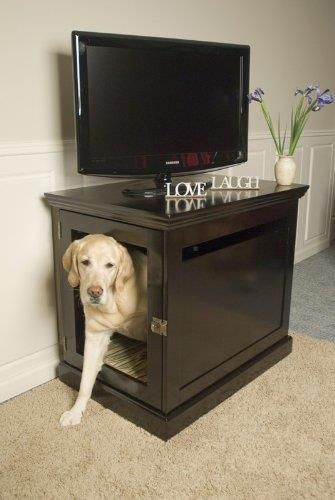 Indoor Dog House and End Table >>> Great deal http://amzn.to/2bLO3Jn