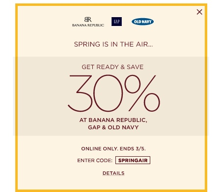 BANANA REPUBLIC, GAP & OLD NAVY  #fashion #coupon #designers #coupons #discounts #trends #news #links #runway http://appearanceforless.com/