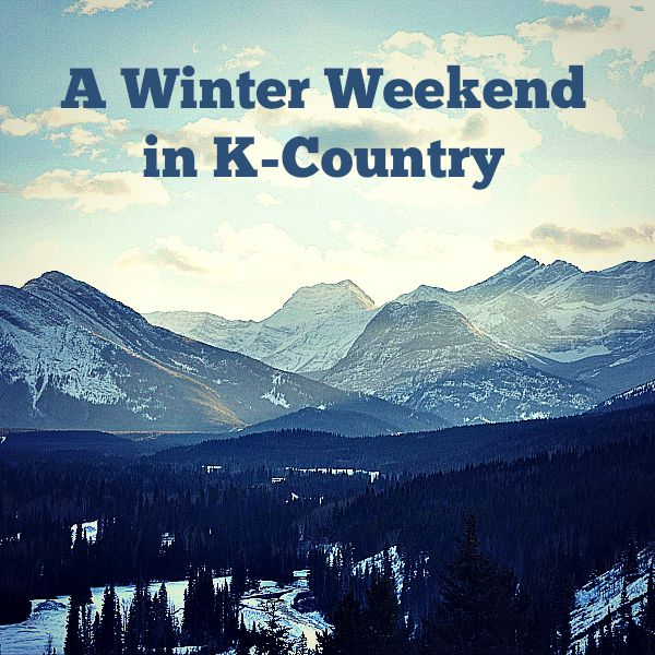 Kananaskis Country is a great area for a family winter weekend from Calgary.