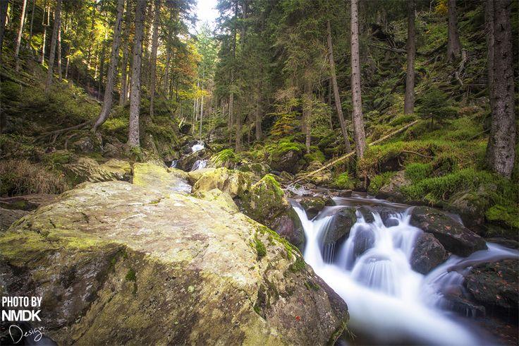 Landschaftsfotografie Landschaft landscape waterfall Wasserfall NMDK Design Bayern bayrischer Wald bavaria foto fotos photo photography