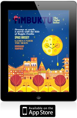 timbuktu italian iPad adventure for children and adults