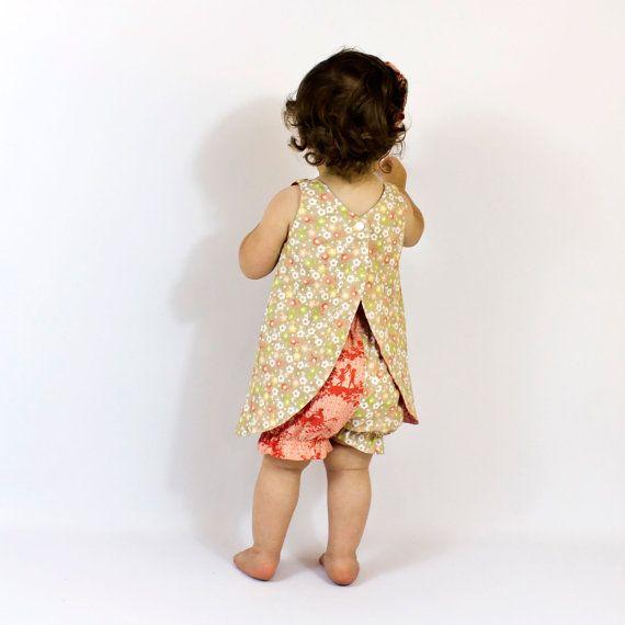 Girls pinafore pattern
