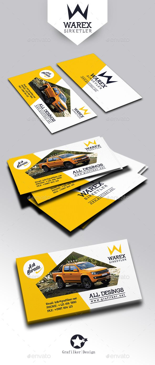 99 best Business Card Templates Design images on Pinterest