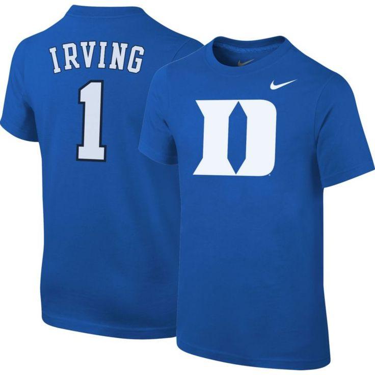 Nike Youth Duke Blue Devils Kyrie Irving #1 Duke Blue College Alumni T-Shirt