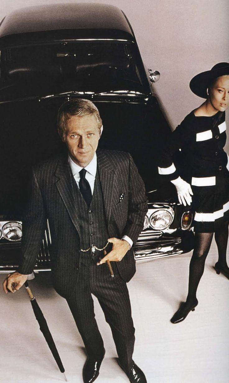 Steve McQueen, Faye Dunaway | The Thomas Crown Affair | 1968 | as Thomas Crown.  Retrouvez toutes nos épingles sur notre page Pinterest : https://fr.pinterest.com/webarchitecte/ et/ou sur notre site internet http://webarchitecte.fr/community-manager-paris.html