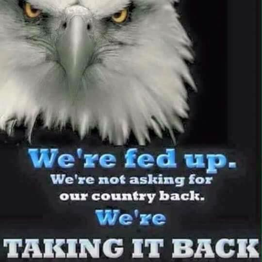 Taking Back America It Is Political
