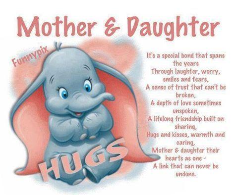 Mother daughter poem