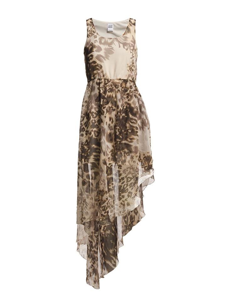 Vero Moda - LEOPADA S/L LONG DRESS - BBB