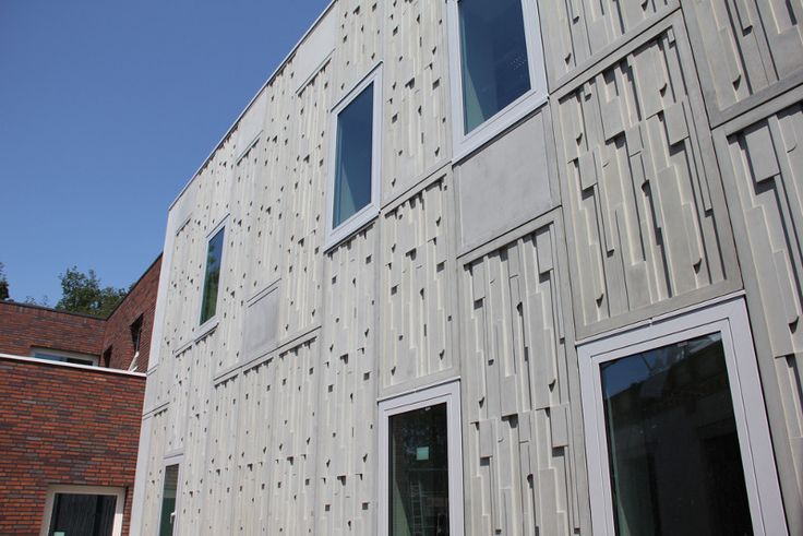 Glass fiber reinforced concrete, manufactured tiles for creative ideas of cladding