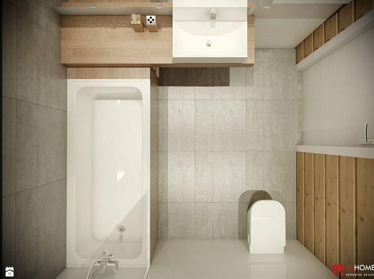 mała łazienka, japońskie inspiracje