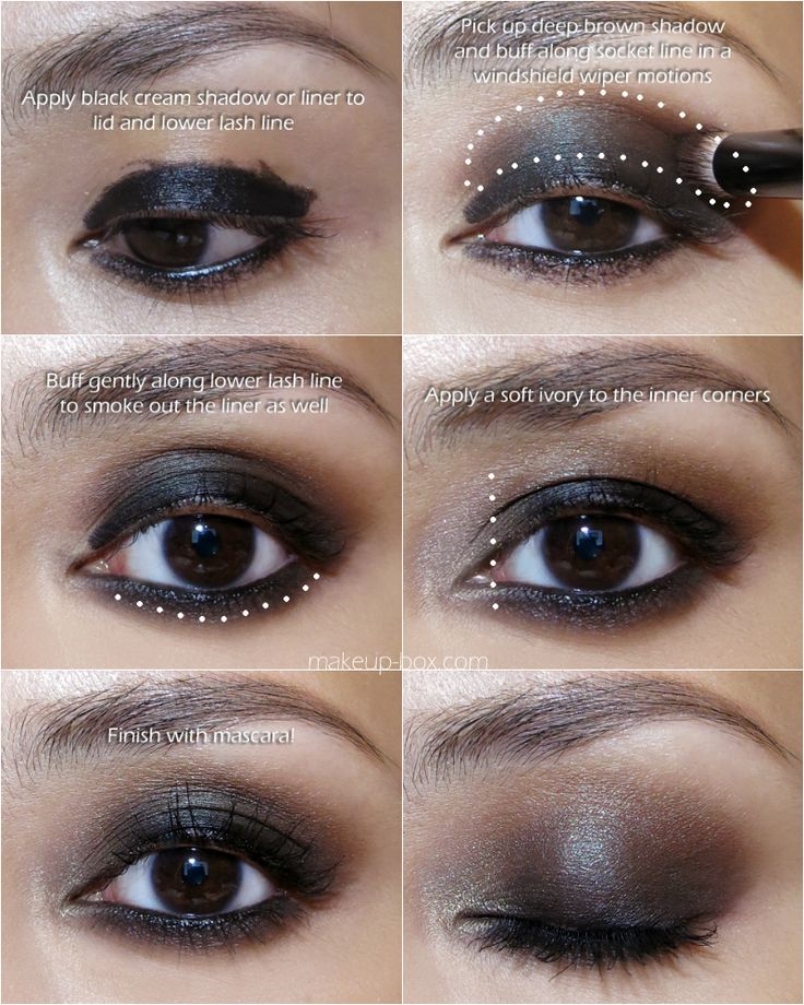 Easy Smokey Eye Id Use Nyx Jumbo Pencil In Black Bean -4751