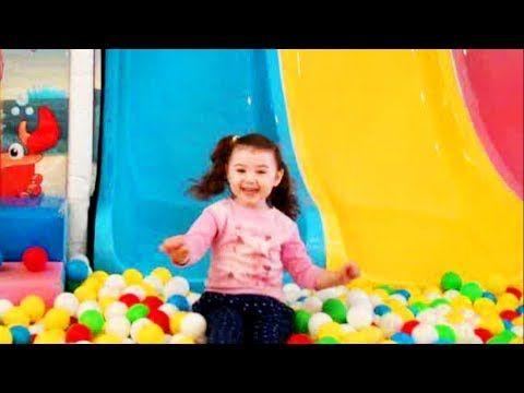 Игровые комнаты для детей с батутом и шариками все серии подряд
