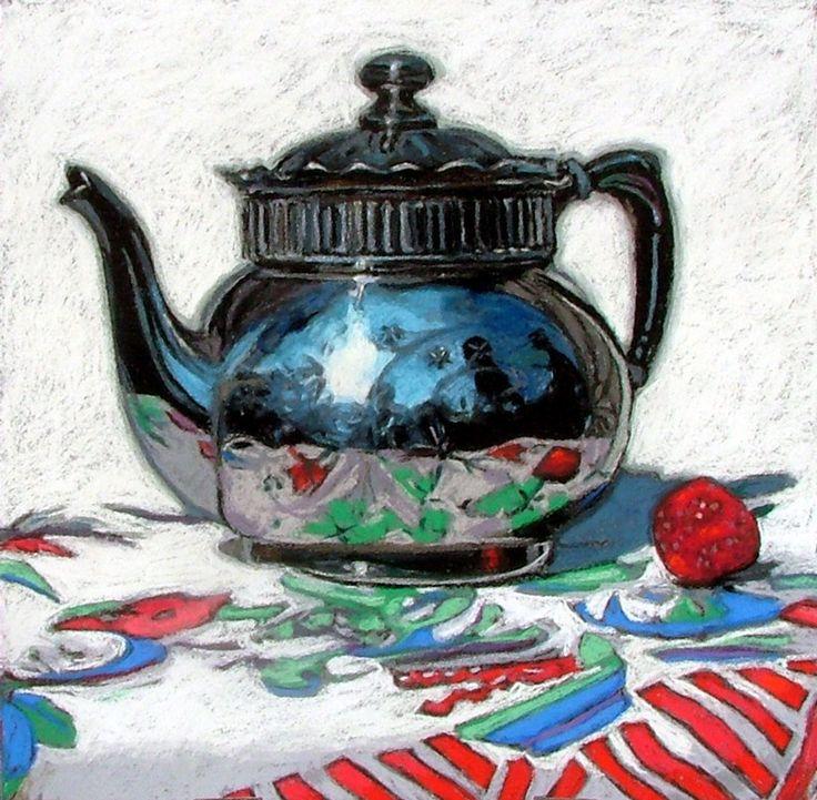 Janet Fish teapot