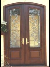Double Exterior Fron Doors For A French Country Cottage Home Double Front Doors Exterior Entry