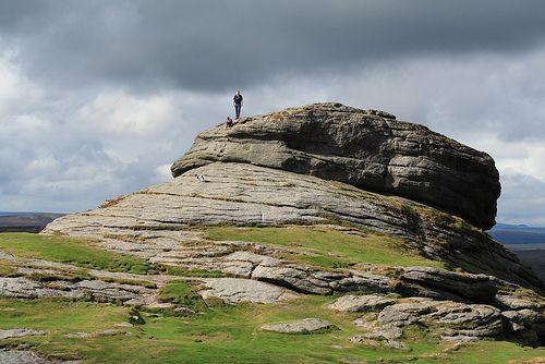 Haytor Rocks - View of the impressive granite boulders on Dartmoor, UK - Flickr - Photo Sharing!