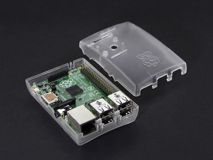 Raspberry Pi B+/2 Arc Enclosure - Transparent