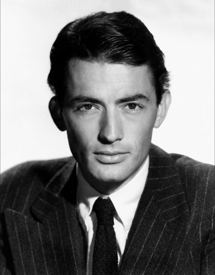 Gregory Peck - classically handsome and he made me weep in To Kill a Mockingbird.