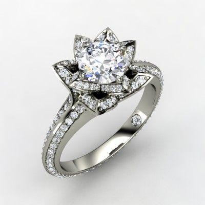 lotus ring by gemvara
