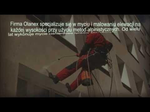 Olanex oferuje malowanie i mycie elewacji