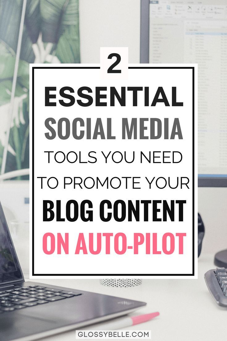 If you're a blogger or business owner, you know how much you have to promote yourself on social media in order to market your business. If you have trouble consistently promoting your content, here are 2 awesome time-saving tools you need to automate your social media scheduling to promote your content on auto-pilot. | social media tips | social media tools | social sharing | social media automation | blogging tips | evergreen posts | blog promotion | bulk scheduling