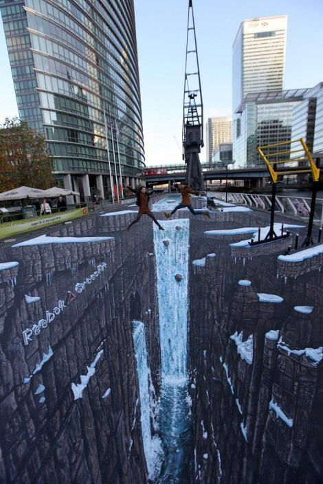 3D Street Art!  I wish I knew where some of this stuff was.  It looks like so much fun